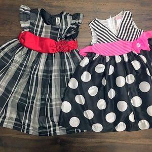 2 Girls dresses- Size 18-24 months